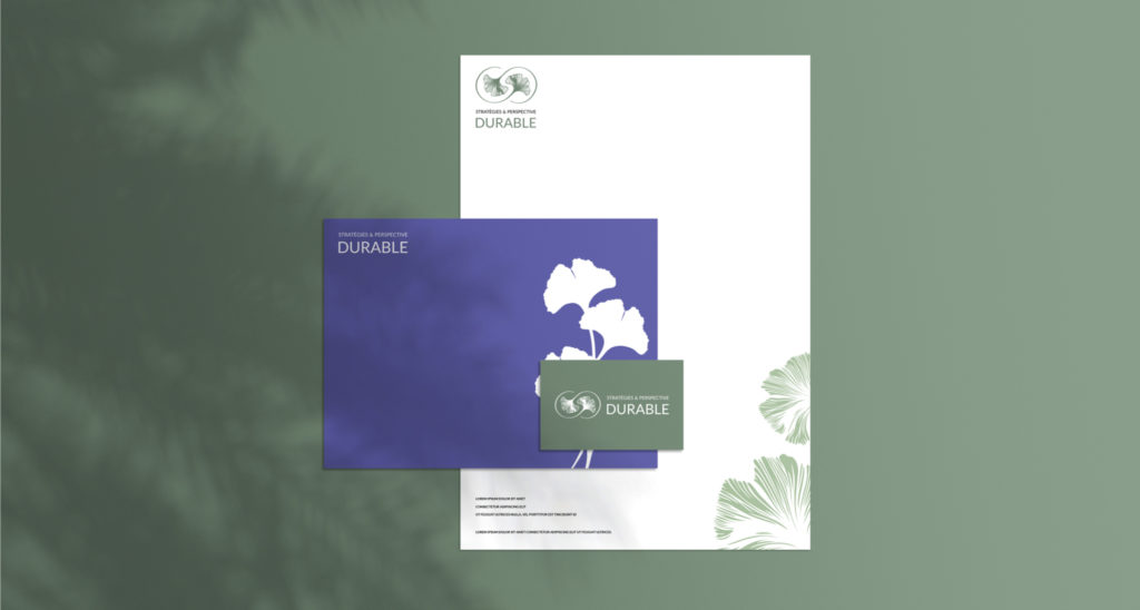 Exemple d'utilisation print du logo de Stratégies & Perspective Durable