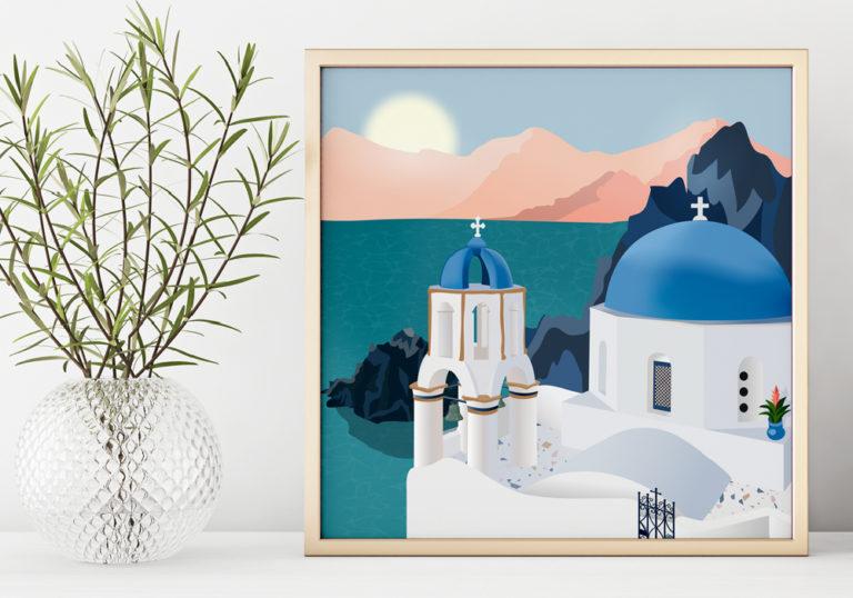 Illustration Grèce
